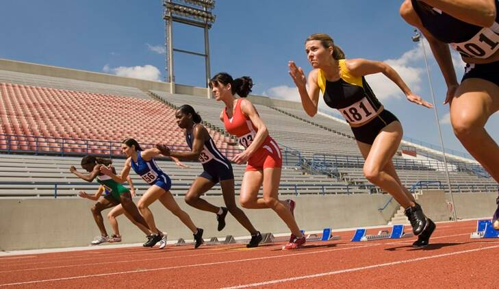 women athlete, women more athletic than men, women vs men athletes, women in sports,
