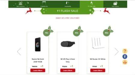 Xiaomi sale, Xiaomi Re 1 sale, Xiaomi Re 1 flash sale, Xiaomi No 1 Mi Fan sale, Redmi 5A at Re 1, Redmi Y1 Lite at Re 1