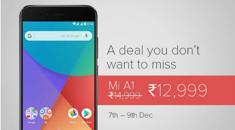 Xiaomi Mi A1 price cut discount review price in India features