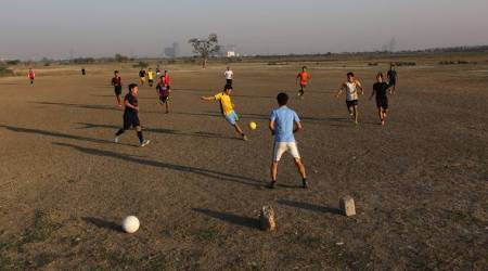 Locals turn part of Yamuna floodplains into cricket academy, football ground; DDA says they have no idea