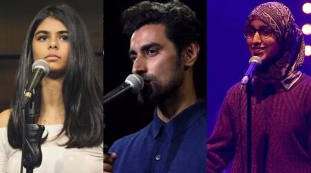 slam poetry, slam poetry 2017, slam poetry in 2017, viral slam poetry videos in 2017, viral videos of slam poetry in 2017, indian express, indian express news