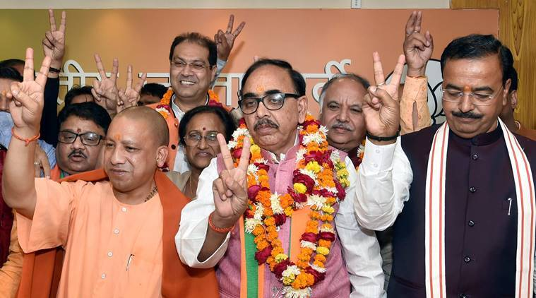 BJP scores massive win in UP civic polls, Congress suffers jolt