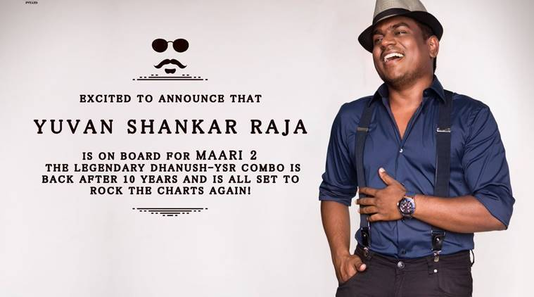 Yuvan Shankar Raja will compose music for Maru 2