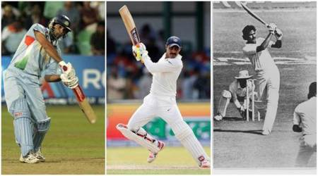 With six sixes in an over, Ravindra Jadeja joins elite list