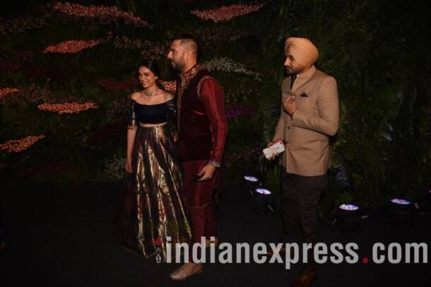 Virat Kohli-Anushka Sharma reception: Yuvraj Singh, Harbhajan Singh and more at grand reception