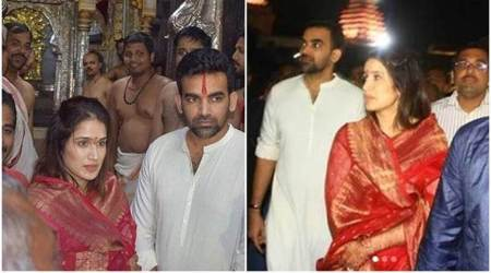 Zaheer Khan, Sagarika Ghatge, Zaheer Sagarika marriage, Zaheer Sagarika wedding, sports gallery, cricket, Indian Express