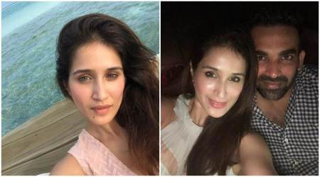 zaheer khan with wife sagarika ghatge on honeymoon