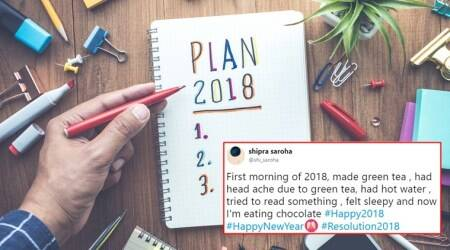 #Resolution2018: These funny and heartwarming resolutions by Netizens are trending on Twitter
