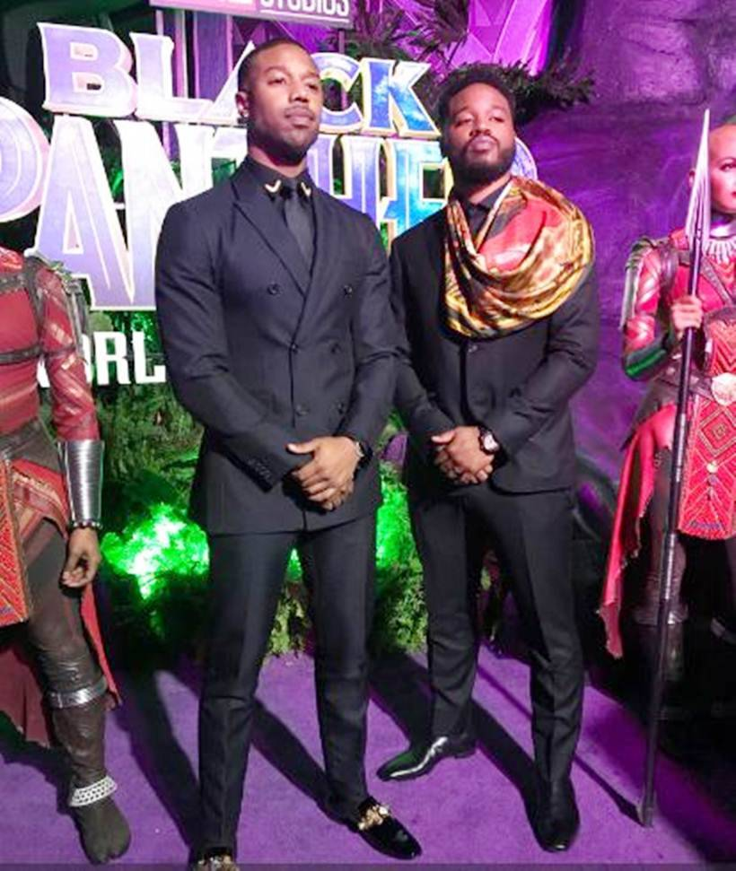 michael b jordan ryan coogler black panther