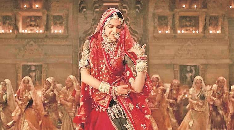 Padmaavat release, Padmaavati in Rajasthan, Padmaavat Ghoomar song, Karni Sena, Gujarat Ghoomar ban, Rajasthan Ghoomar song ban, India news, Indian Express