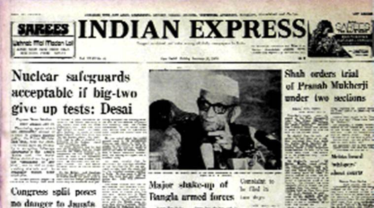 January 13, 1978, Forty Years Ago: Pranab to face trial