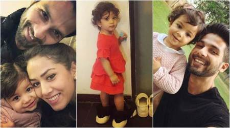 Misha Kapoor is all set to step into daddy Shahid Kapoor's shoes