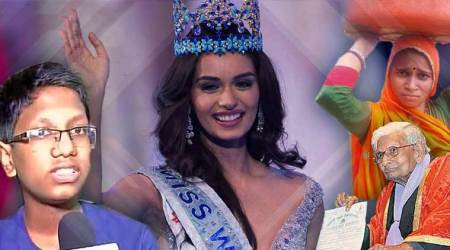 Manushi Chhillar to samosa-seller son, these students inspired us in 2017