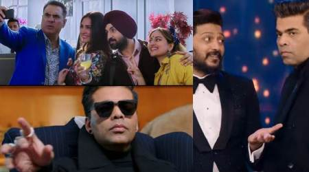 Welcome To New York trailer is a laugh riot and Riteish Deshmukh, Karan Johar are our favourites