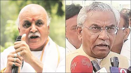 Non-bailable warrants against BJP MLA Jamnadas Patel, VHP leader Pravin Togadia in 1996 case