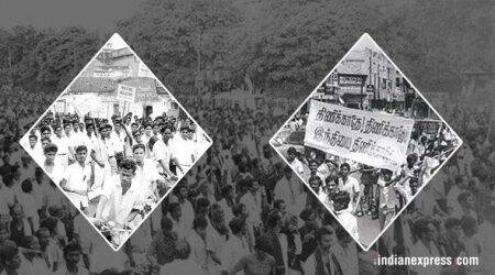 Stalin, M K Stalin, DMK, Hindi, anti-Hindi protests, Stalin 1965 protests, DMK 1965 anti Hindi protests, India news, Indian Express