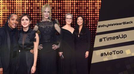 #TimesUp, #WhyWeWearBlack: Hashtags that defined Golden Globes 2018