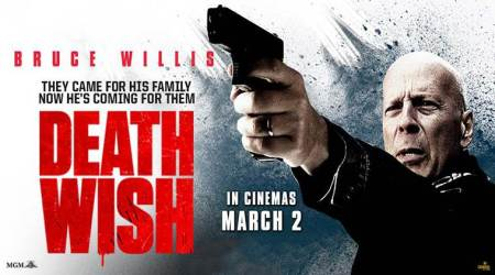 bruce willis, death wish movie, death wish india release, hollywood, indian express