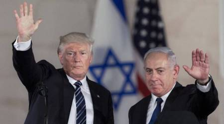US and israel, trump and israel, israel nationalism, trump gift to israel, world news, indian express news