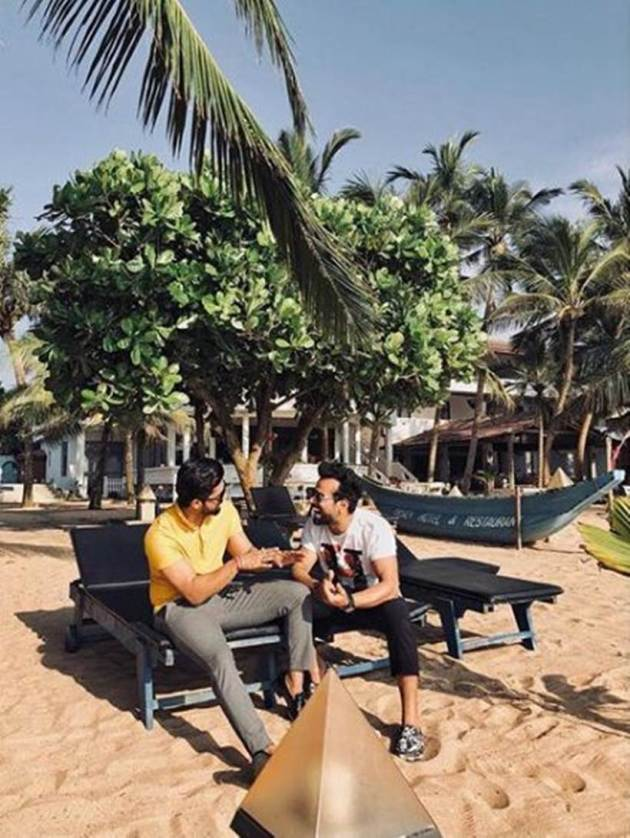 Rithvik Dhanjani and Ravi Dubey are best friends