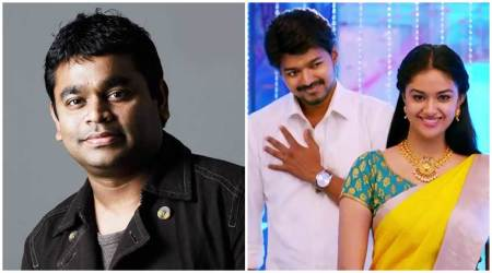 A R Rahman, Keerthy Suresh join Vijay's next with AR Murugadoss