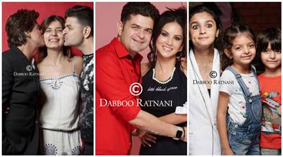 A sneak peek at Dabboo Ratnani 2018 calendar featuring Sunny Leone, Alia Bhatt and Shah Rukh Khan among others