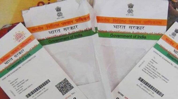 Aadhaar enrollment, Aadhaar card, Aadhaar card enrollment, UIDAI, Bank Branches, India News, Indian Express, Indian Express News