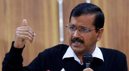 arvind kejriwal, delhi cm, kejriwal questioned by police, delhi police, kejriwal police questioning video, indian express