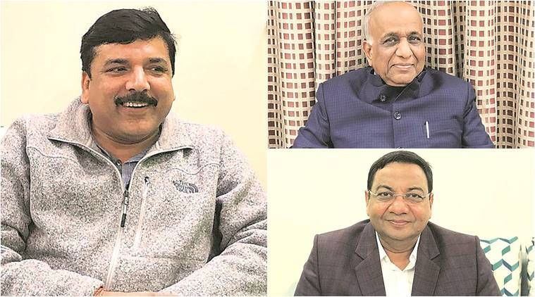 AAP, Rajya Sabha Elections, AAP Rajya Sabha Election nominees, Sanjay Singh, Sushil Gupta, AAP Rajya Sabha candidates, AAP nominates businessmen to Rajya Sabha, Indian Express