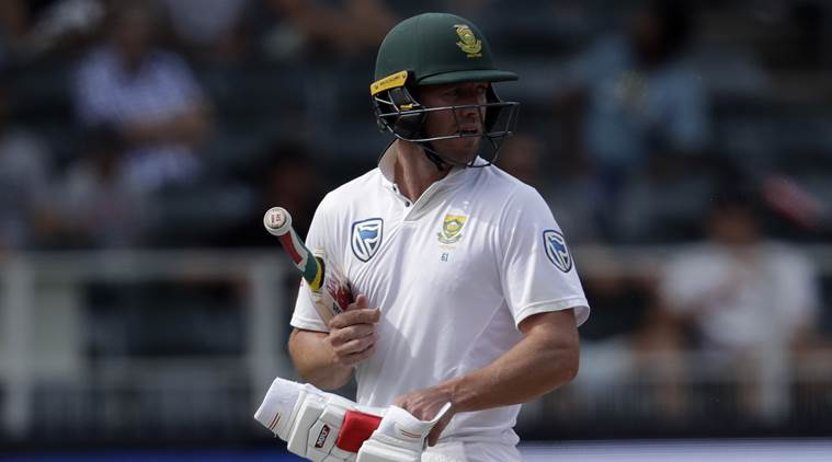 India vs South Africa, AB de Villiers, AB de Villiers injury, AB de Villiers finger injury, India tour of South Africa 2018, sports news, cricket, Indian Express