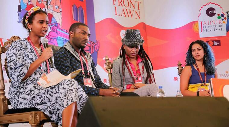 JLF, JLF 2018, Jaipur lit fest 2018, jaipur lit fest speakers, jaipur lit fest latest, Abubakar Adam Ibrahim, african literature at jaipur lit fest, african literature, Abubakar Adam Ibrahim writer, Abubakar Adam Ibrahim at JLF, Abubakar Adam Ibrahim at Jaipur li fest, Abubakar Adam Ibrahim on feminism, Abubakar Adam Ibrahim on women and sexuality, Indian Express, Indian Express News