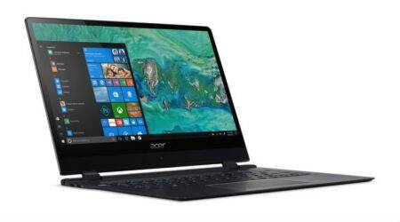 Acer Swift 7, Acer Nitro 5, Acer Spin 3, Acer Chromebook 11, Acer CES 2018, CES 2018, Swift 7 world's thinnest laptop, Acer