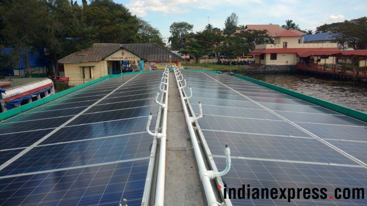 solar power, maharashtra, mahavitran, maha energy dept, thermal power, indian express