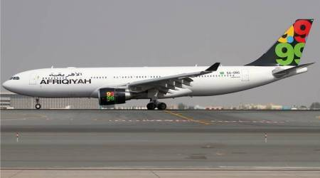 Libya's Afriqiyah Airways suspends flights following airport attack