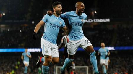 Sergio Aguero hat trick helps Manchester City get back to winning ways