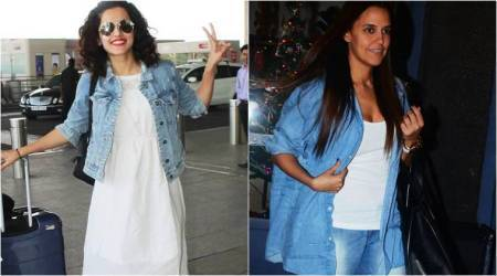 Taapsee Pannu, Neha Dhupia show us how to up the ante of a casual look with this styling tip