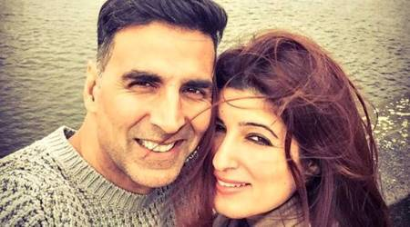Akshay Kumar and Twinkle Khanna create magic as the love-struck, fashionable couple on this magazine cover