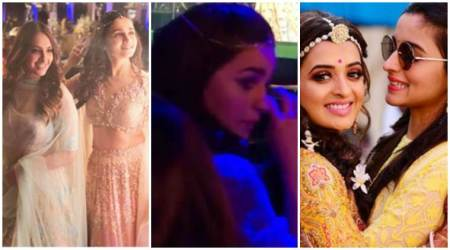 Alia Bhatt breaks down at best friend's wedding; see photos, videos