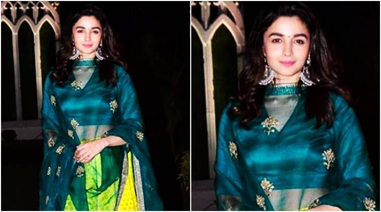 Alia Bhatt, Alia Bhatt lehenga, Alia Bhatt ethnic wear, Alia Bhatt style, Alia Bhatt fashion, Alia Bhatt updates, Alia Bhatt latest photos, Alia Bhatt latest news, Alia Bhatt images, Alia Bhatt pictures, celeb fashion, bollywood fashion, indian express, indian express news