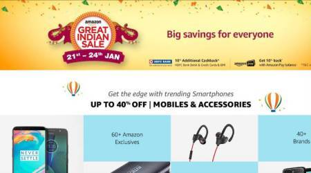 Amazon Great Indian sale starts today, Prime members get early access at 12 PM