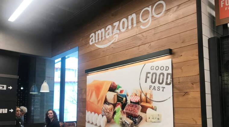 Amazon Go opening, Amazon automated gorcery store opening, brick-and-mortar stores, Amazon Go Seattle store, Amazon buys Whole Foods, automated retail store, Amazon Go app