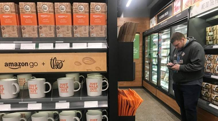 Amazon opens a supermarket with no checkouts