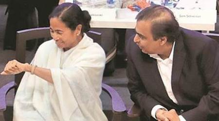 Under Mamata Banerjee, West Bengal turning Best Bengal: Mukesh Ambani