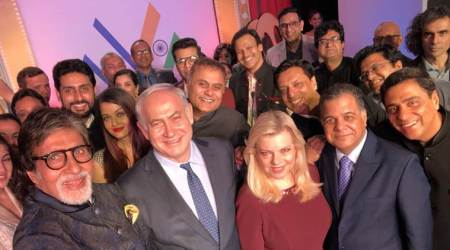 Amitabh Bachchan, Karan Johar, Aishwarya Rai and others click a selfie with Israel PM