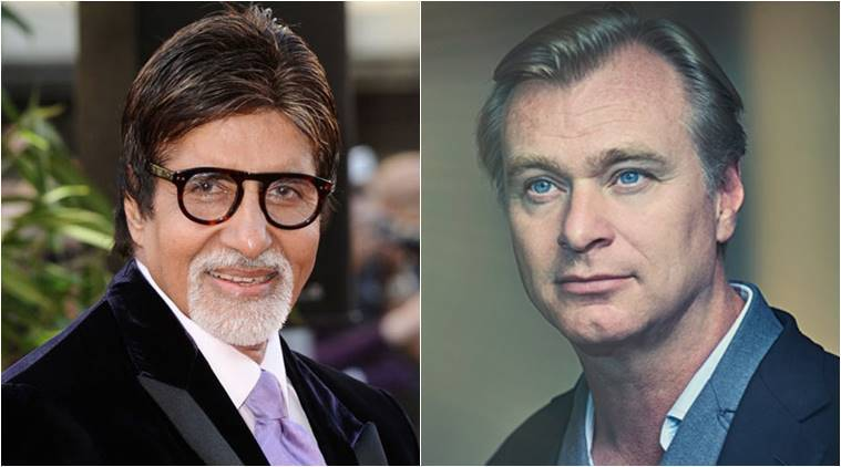 Amitabh Bachchan reveals that CHristopher Nolan is set to visit India in a month
