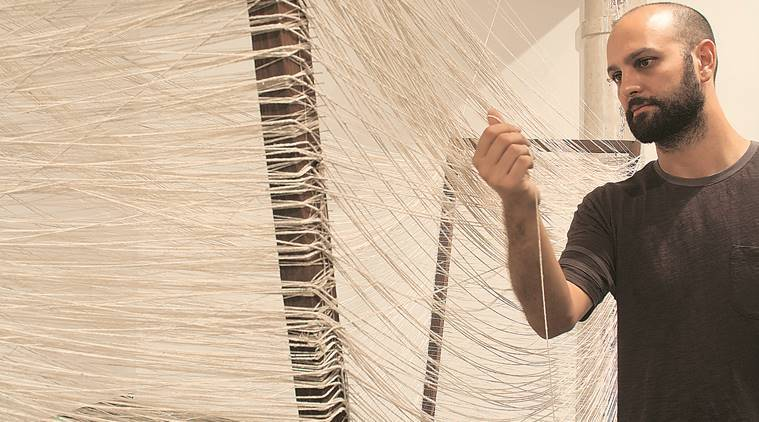 Andrew Ananda Voogel's second solo show at Mumbai's Project 88