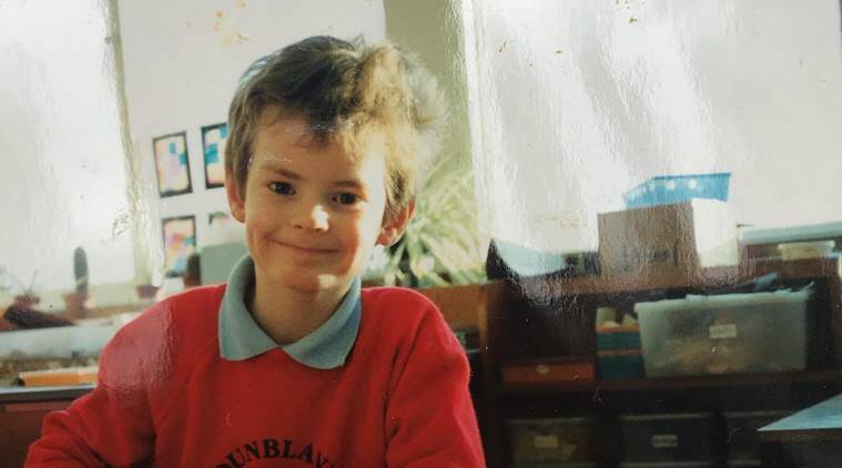Andy Murray shared a picture of himself as a kid