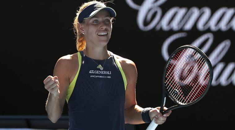 Angelique Kerber rolls over Maria Sharapova at Australian Open