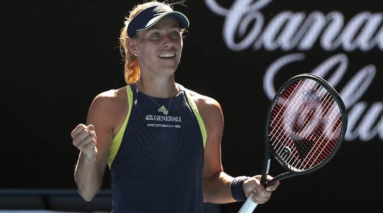 Angelique Kerber won in the second round of Australian Open.
