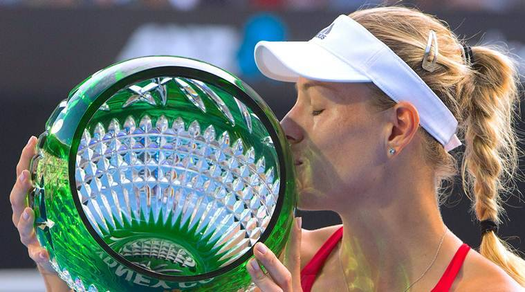 Angelique Kerber, Angelique Kerber news, Angelique Kerber updates, Angelique Kerber matches, Ashleigh Barty, sports news, tennis, Indian Express